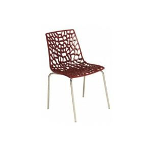 Traviata - Chaise design en polycarbonate