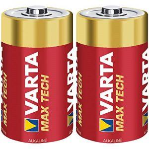 Varta 2 piles alcalines C Max Tech LR14