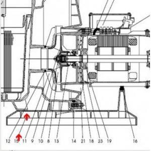 Procopi 593902 - Pied de pompe Tifon 1 300M