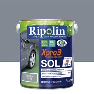 Ripolin Peinture Xpro3 Sol 2,5 litres