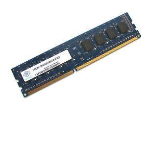 Nanya DIMM - 2 Go - DDR3 - PC3-10600U