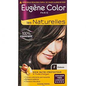 Eugène Color Color & Eclat Crème colorante permanente Châtain 2