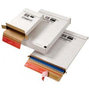 Mailmedia CP 065.52 - Carton d'expédition type courrier, dim. intérieures (L)139 x (P)216 x (H)29 mm