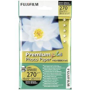 Fujifilm 20 feuilles de papier photo Premium Plus 270g (10 x 15 cm)