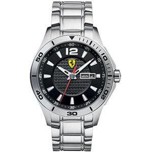 Scuderia Ferrari Scuderia 830094 - Montre pour homme avec bracelet en acier