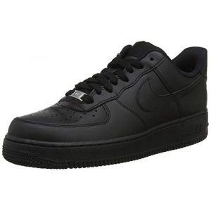 Nike Chaussure de basket-ball Chaussure Air Force 1'07 pour Femme - Noir Taille 43