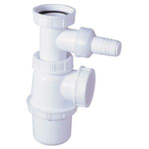 Wirquin SP3223 - Siphon d'évier avec prise machine à laver