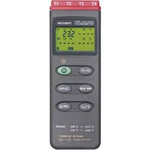 Voltcraft K204 Appareil de mesure de température, thermomètre