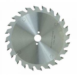 Isocele 964.190.3024 - Lame de scie circulaire au cabure diamètre 190 mm dents 24