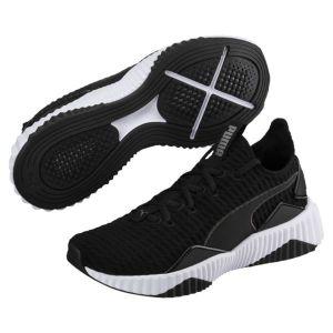 Puma Defy Wn's, Chaussures de Fitness Femme, Noir Black White 01, 41 EU