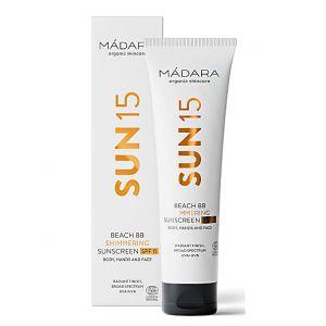 Mádara Sun15 Beach BB Shimmering Sunscreen - 100 ml - SPF 15