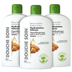 L'Arbre Vert Douche soin Hydratation Intense - Peaux sensibles & extra sèches