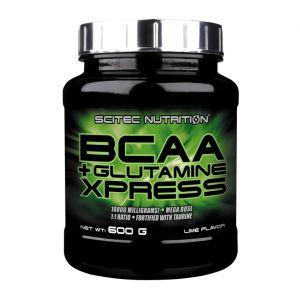 Scitec nutrition BCAA + Glutamine Xpress - 600g citron vert