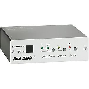 Real Cable HDS-12 - Switch HDMI 1 entrée 2 sorties