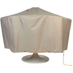 Tetragonia - Housse de protection pour table ronde de jardin (160 cm)