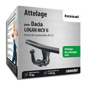 Bosal Attelage «col de cygne> démontable avec outils 040-291