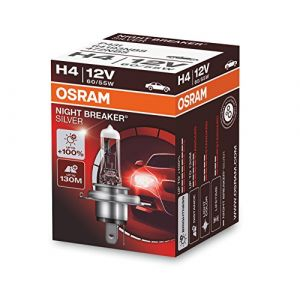 Osram 64193NBS Night Breaker Phare Halogène Silver H4-12 V