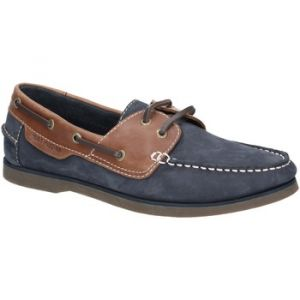 Hush Puppies Henry, Chaussures bateau homme - Blue (Blue (Blue/Tan Blue/Tan) Blue/Tan), 46 EU