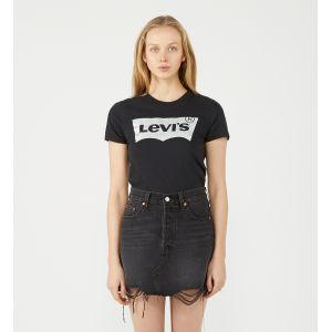 Levi's Deconstructed Skirt, Jupe Femme, Noir (Ill Fated 0027), Taille Unique (Taille Fabricant: 25)