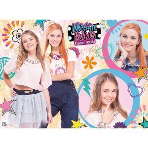 Ravensburger Maggie et Bianca Fashion Friends - Puzzle 300 pièces XXL