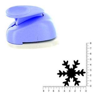 Artémio Perforatrice géante flocon de neige - 5 cm