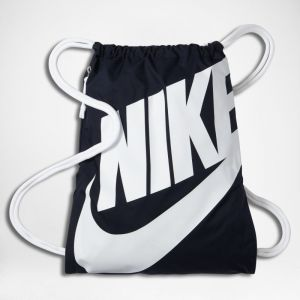 Nike Sac de gym Sportswear Heritage - Bleu - Taille ONE SIZE - Unisex