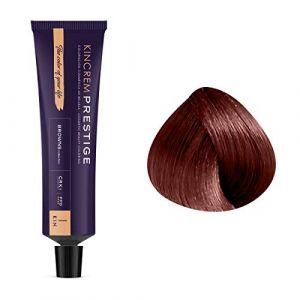 Kin Cosmetics Coloration permanente enrichie à la kératine 5.50 - Marron Teck, 60ml