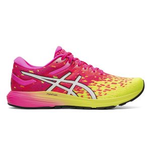 Asics Chaussures de running DynaFlyte 4 Rose / Jaune - Taille 42