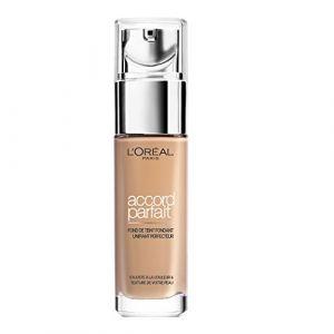 L'Oréal Accord Parfait 3.D. Beige Doré - Fond de teint fondant unifiant perfecteur