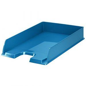 Esselte 623926 - Bac à courrier Europost Vivida standard A4, en polystyrène choc, bleu