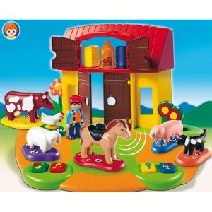 Playmobil 6766 - 1.2.3 : Ferme interactive