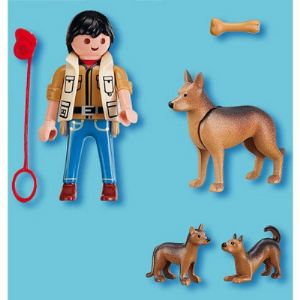Playmobil 5211 - Berger Allemand et ses petits