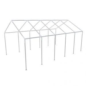 VidaXL 40153 - Structure de tente chapiteau pavillon jardin 10 x 5 m