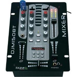 Ibiza Sound DJM-150 USB - Table de mixage DJ à 2 voies / 5 canaux