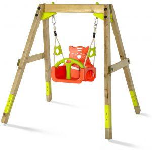 Plum 2-en-1 Swing - Portique bois