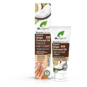 Dr. Organic Virgin coconut oil hand & nail cream