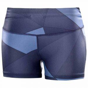 Salomon Collants Agile Short Tight - Night Sky / Graphite / Crown Blue - Taille L