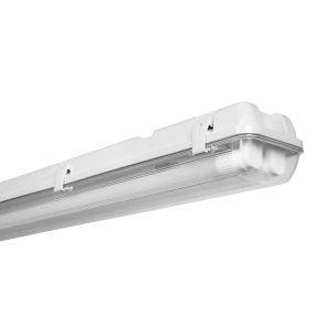 Osram Luminaire Étanche LED Submarine - 2 tubes LED G13 inclus - Longueur 120 cm - Etanche IP65 - 3000 Lumen - Blanc Froid 4000K