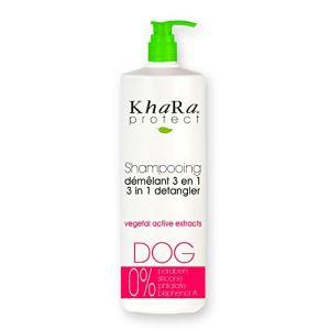 Khara Protect - Shampooing démêlant 3 en 1 pour chien (250 ml)