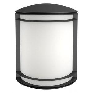 Philips Luminaire extérieur LED applique murale noire Antelope lumière blanc froid