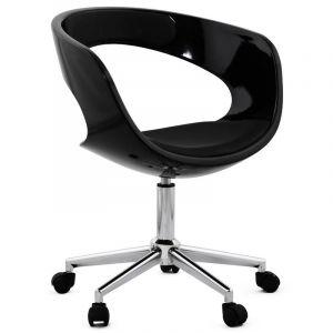 Kokoon Design Chaise de bureau noire Pivotante AUSSI AFTER