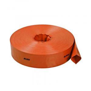Ruris Tuyau refoulement en PVC renforcé 76 mm x 20 m ACCWP80 - Orange