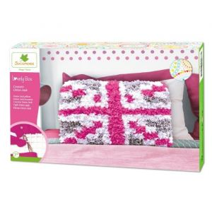 Sycomore Lovely Box Coussin Union Jack
