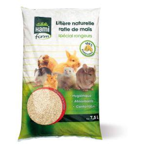 Hamiform Litière naturelle rafle de maïs spécial rongeurs