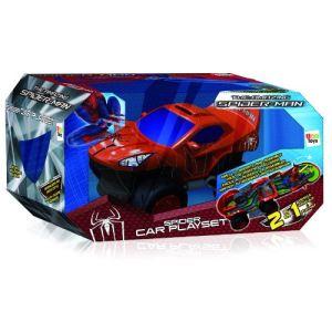 IMC Toys Voiture Spider-Man + 4 micro voitures