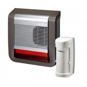 Diagral DIAG55AAX - Pack dissuasion : détecteur et sirène flash extérieurs