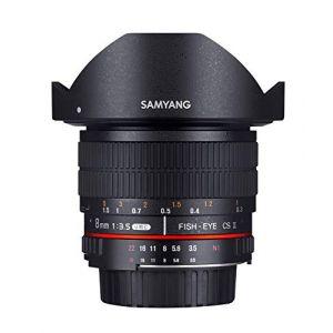 Samyang 8mm 3.5 Fisheye CS II Monture Pentax