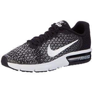95f92ec7c49b7 Nike Chaussure de running Air Max Sequent 2 pour Enfant plus âgé - Noir -  Taille