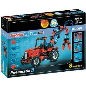 Fischertechnik Jeu de construction Profi : Pneumatic 3 8 modèles