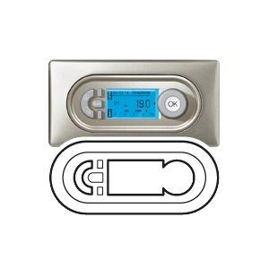 Legrand Enjoliveur Céliane gestionnaire d'ambiance / thermostat / programmateur blanc